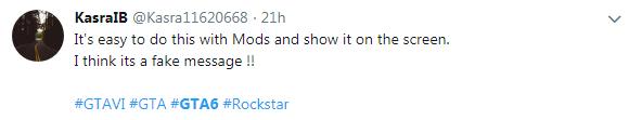 玩家晒Rockstar推送《侠盗猎车6》预购 真假未知