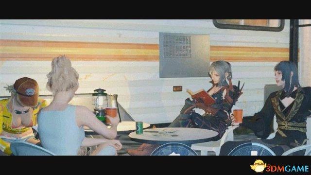 《最终幻想15》官方分享有趣演示 四基佬变四女神