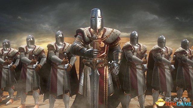 战法牧结阵而战 《泰亚史诗》真实还原中世纪战争