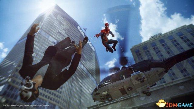《蜘蛛侠》发售前不会有体验版 PS4 Pro版为30帧