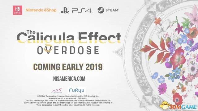 《卡里古拉:过量》面向欧美推出PC/Switch/PS4版