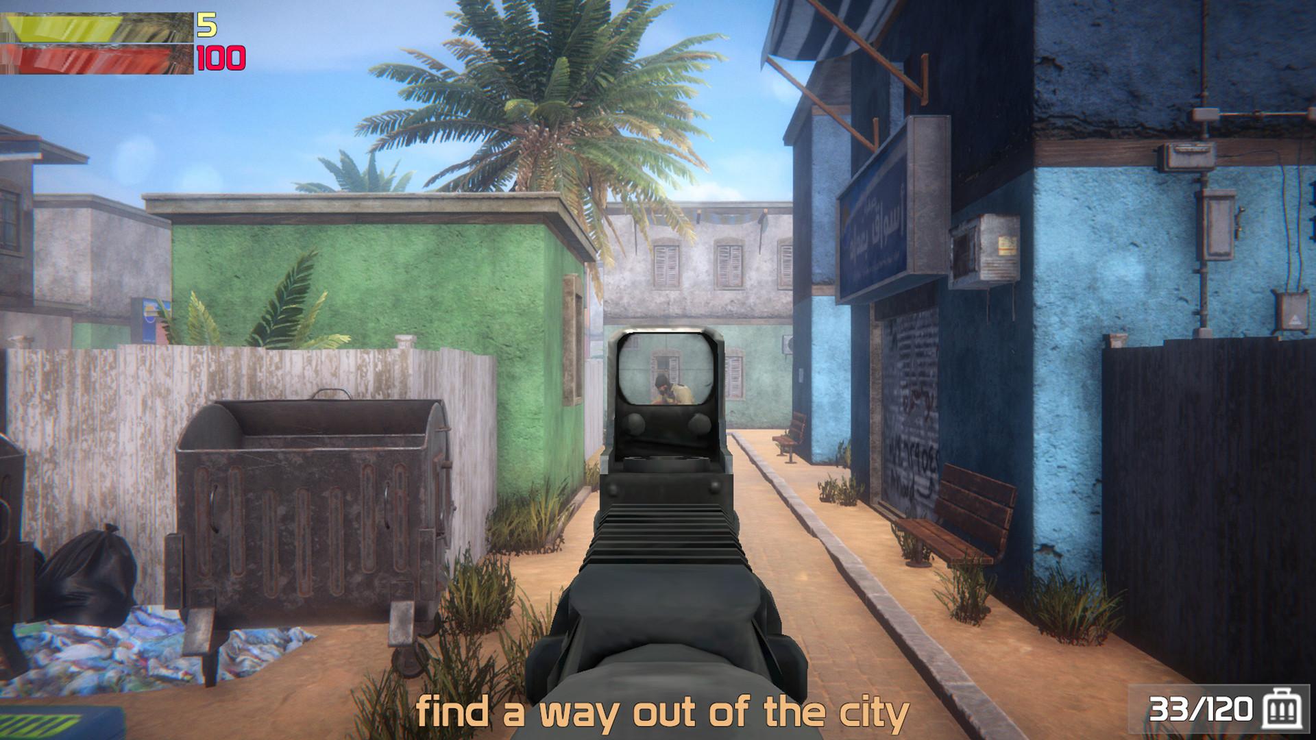 血腥沙地 游戏截图