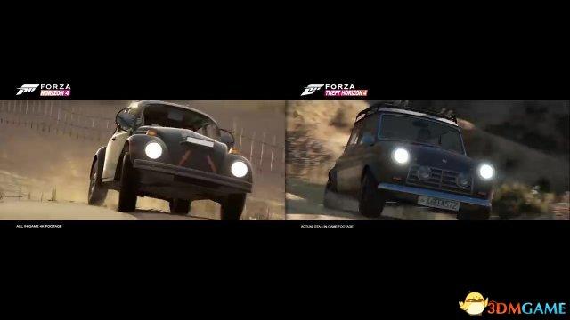 新Mod让《侠盗猎车5》上演《极限竞速:地平线4》