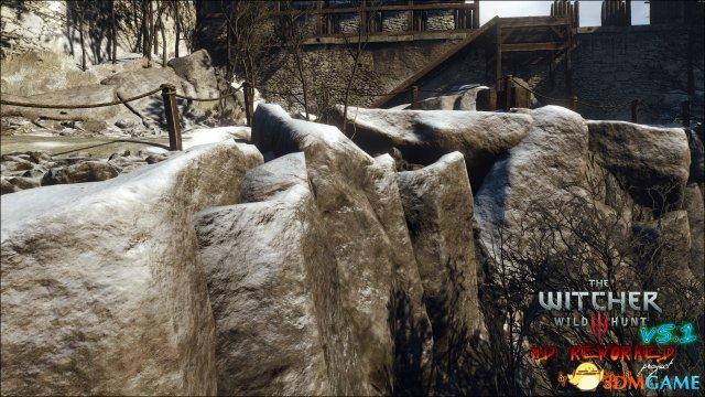 照片级截图展示《巫师3》HD重制项目5.1版发布