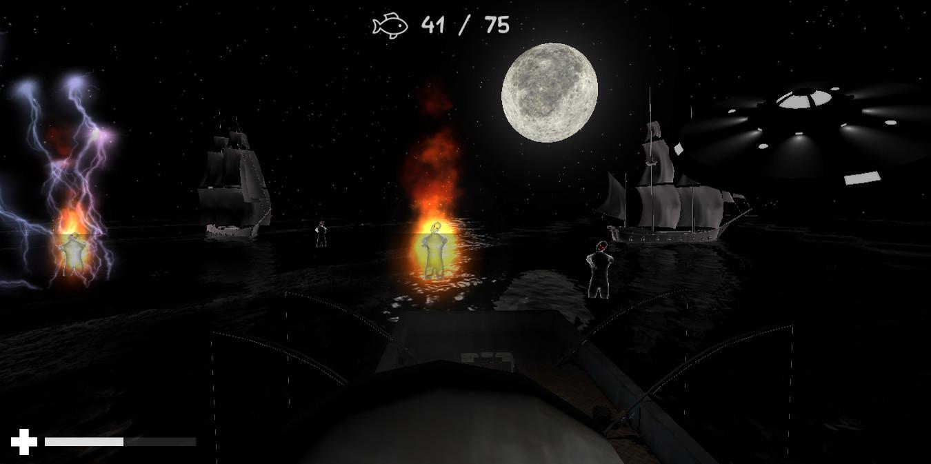 访客:海生物入侵 游戏截图