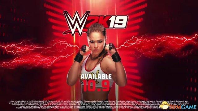《WWE 2K19》预购新奖励:前UFC冠军龙达 鲁西