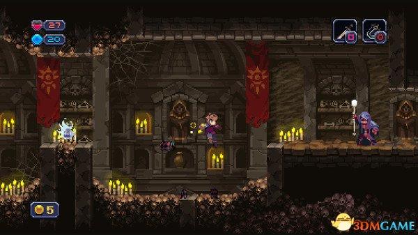 温馨点阵风 迷宫探索《Chasm》7.31日Steam发售