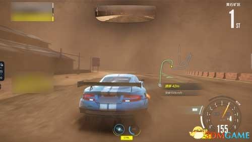 穿越沙石后的胜利,《极品飞车OL》黄石矿区赛道攻略