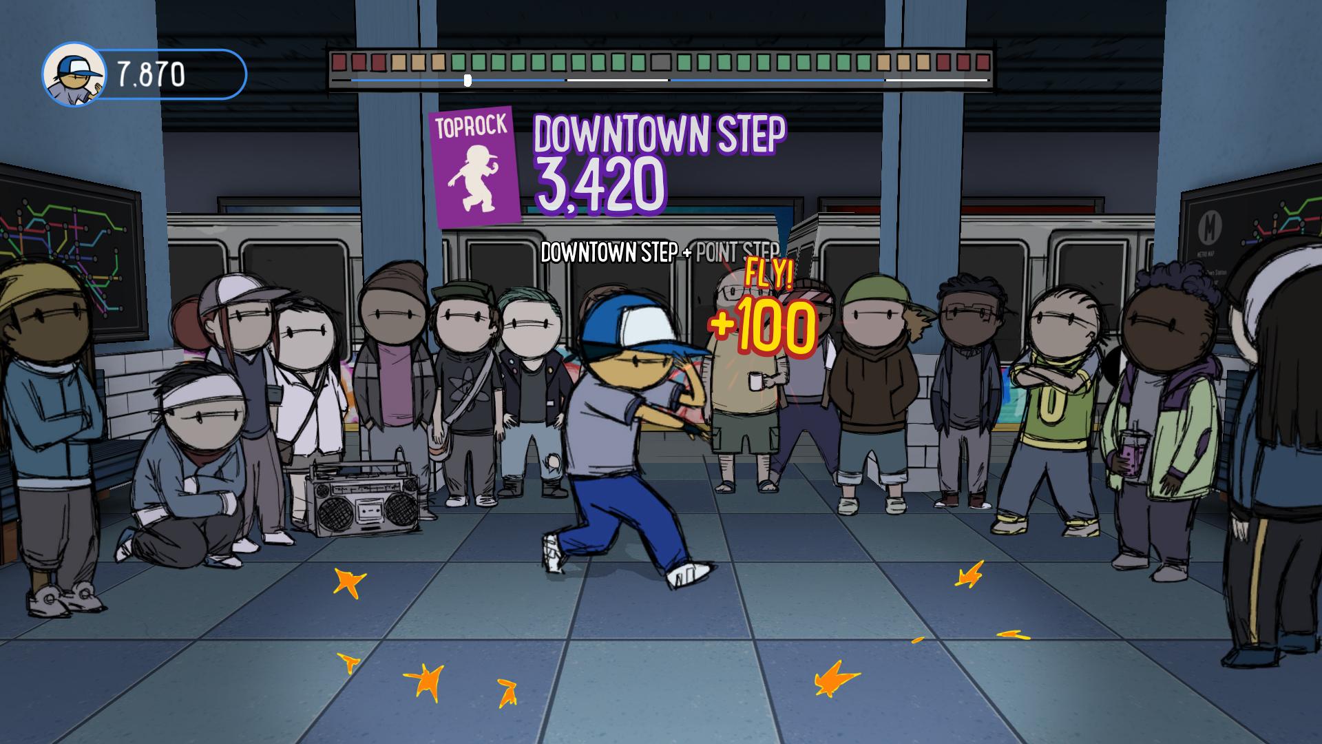 街舞少年 游戏截图