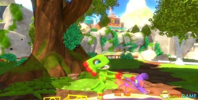 梦回N64 《尤卡莱丽大冒险》64位画面截图公布