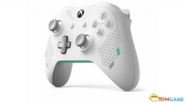白色外观优雅至极,Xbox女武神主题无线手柄公布