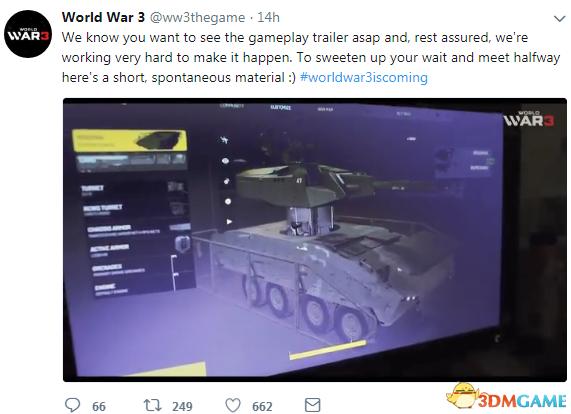 《第三次世界大战》屏摄演示曝光 自定义功能强大