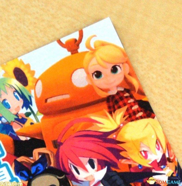 谜之新角色亮相!日本一发给FAMI通消暑明信片