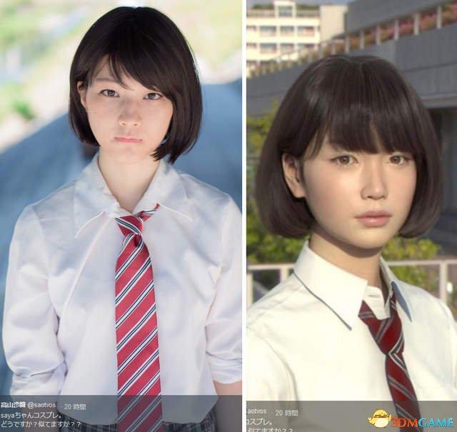 演绎《底特律:变人》机器人的高山纱织再扮Saya