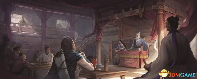 大话2长安茶馆温情开业 一盏茶换你一个大话故事