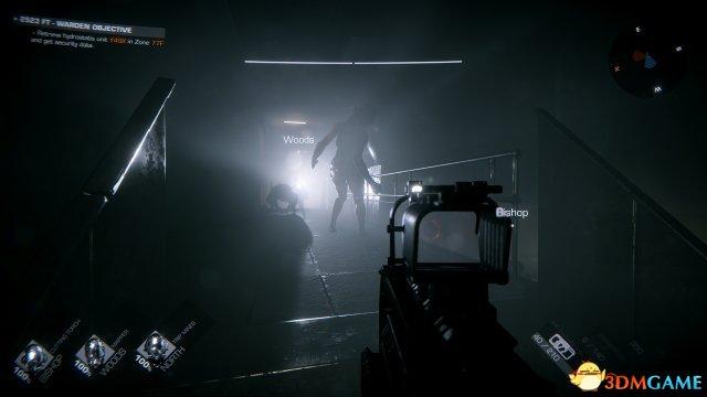 """恐怖射击新作《GTFO》视频展示无形怪物""""影之敌"""""""