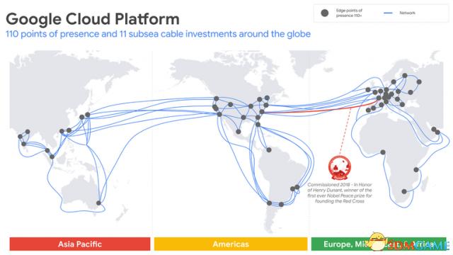 谷歌建首条私有跨大西洋海底电缆 全长6400公里