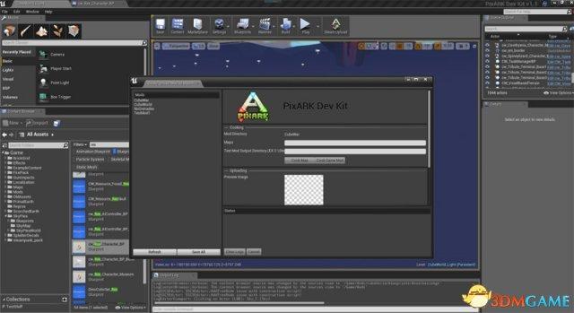 方块方舟发布MOD编辑器,支持玩家自制皮肤、职业