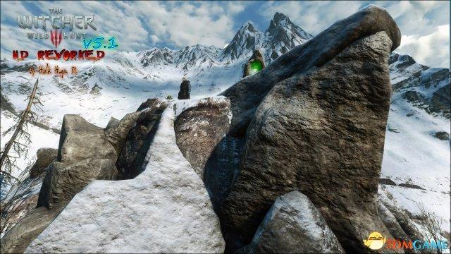 《巫师3》高清MOD新版本发布 重制画面焕然一新