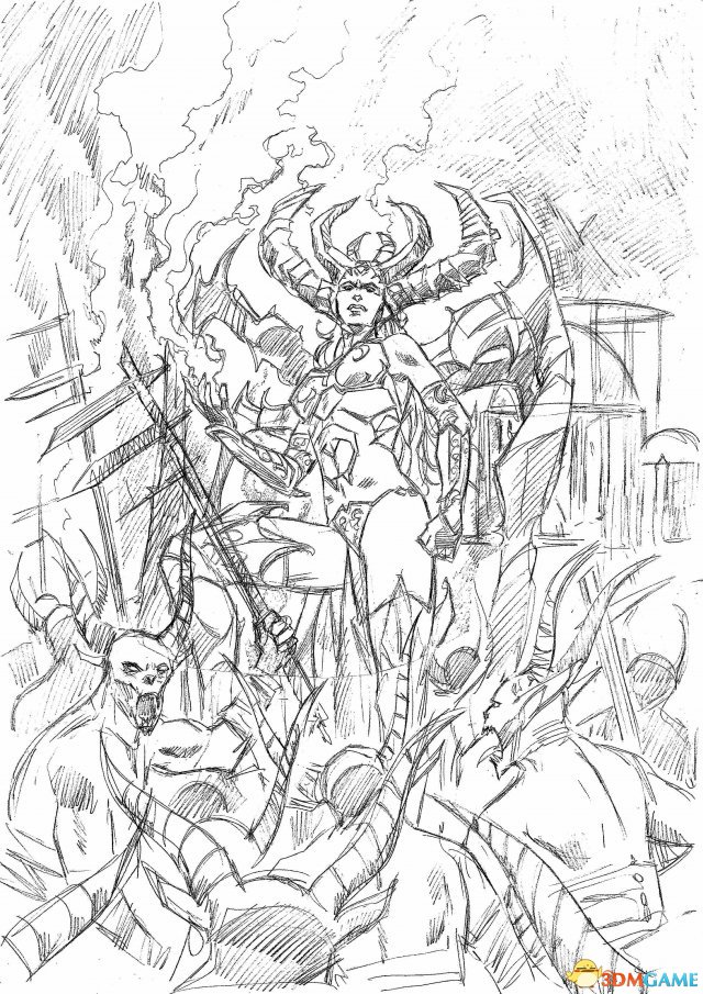 漫画公布《暗黑寻找神》暴雪全新破坏人性起黄日本漫画漫画很大全图片