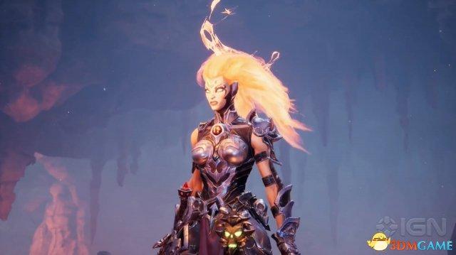 《暗黑血统3》新演示 复仇女神火焰形态太性感