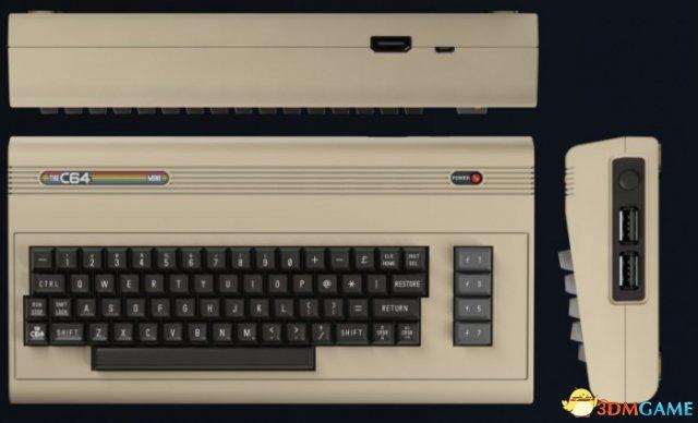"Commodore 64复刻版本""C64 Mini""10月北美上市"