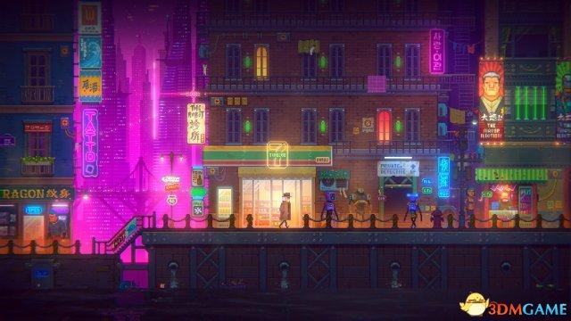 国产赛博朋克 独立游戏《迷雾侦探》正式预告