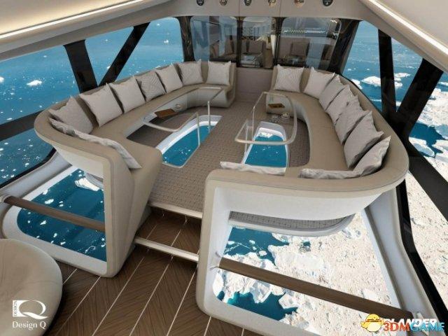 世界上最大飞机将提供玻璃地板机舱进行豪华飞行