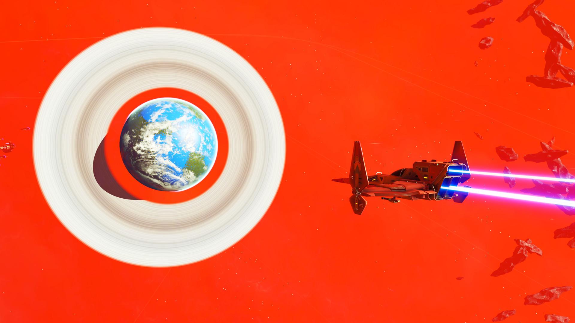 《无人深空》精美照片选 火红星系让人叹为观止