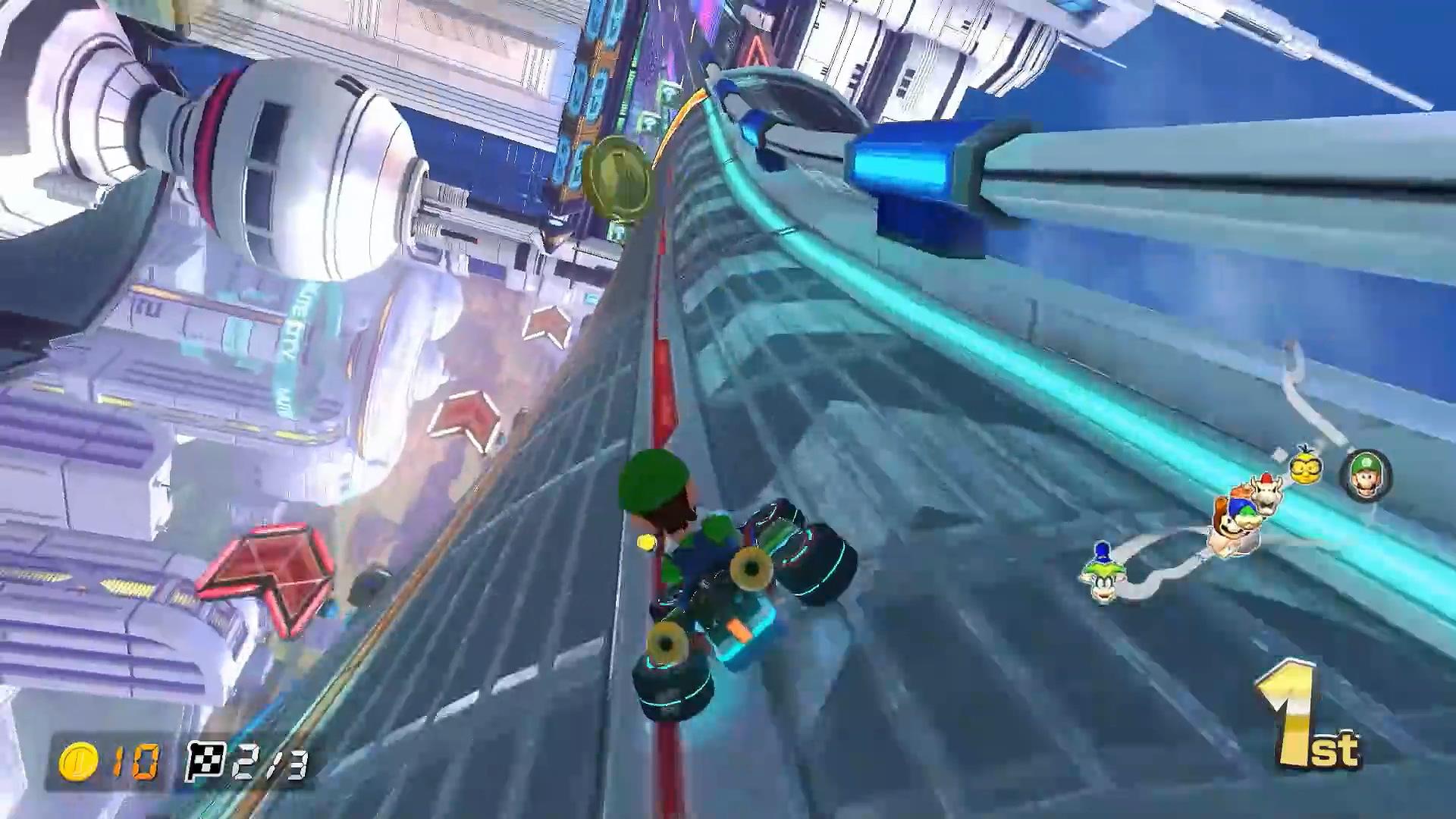 <b>玩家居然把《马里奥赛车8豪华版》改成《F-ZERO》真为Switch那小身板儿捏把汗</b>