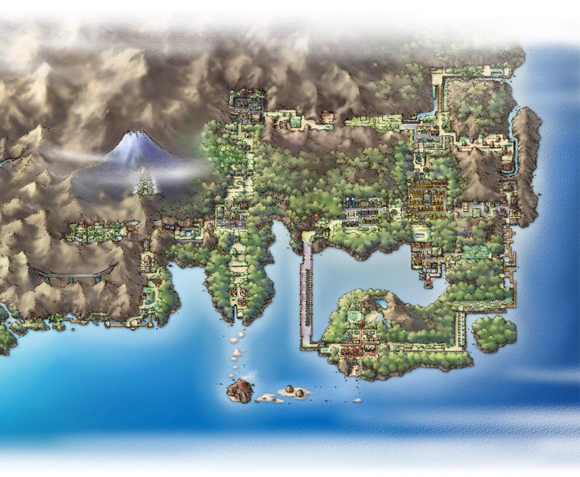 全球资讯_Switch《精灵宝可梦Lets Go》关东地图经过重新设计对比旧版简直 ...