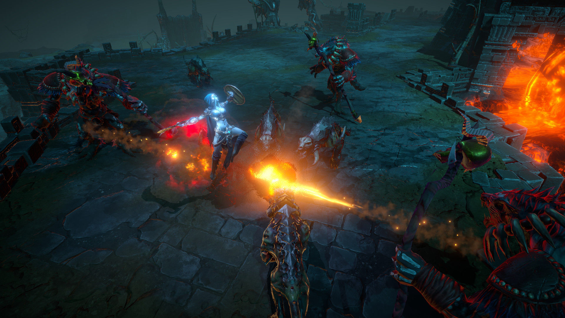 动作RPG 《暗影:觉醒》 PS4版支持繁体中文 PC版配置公布