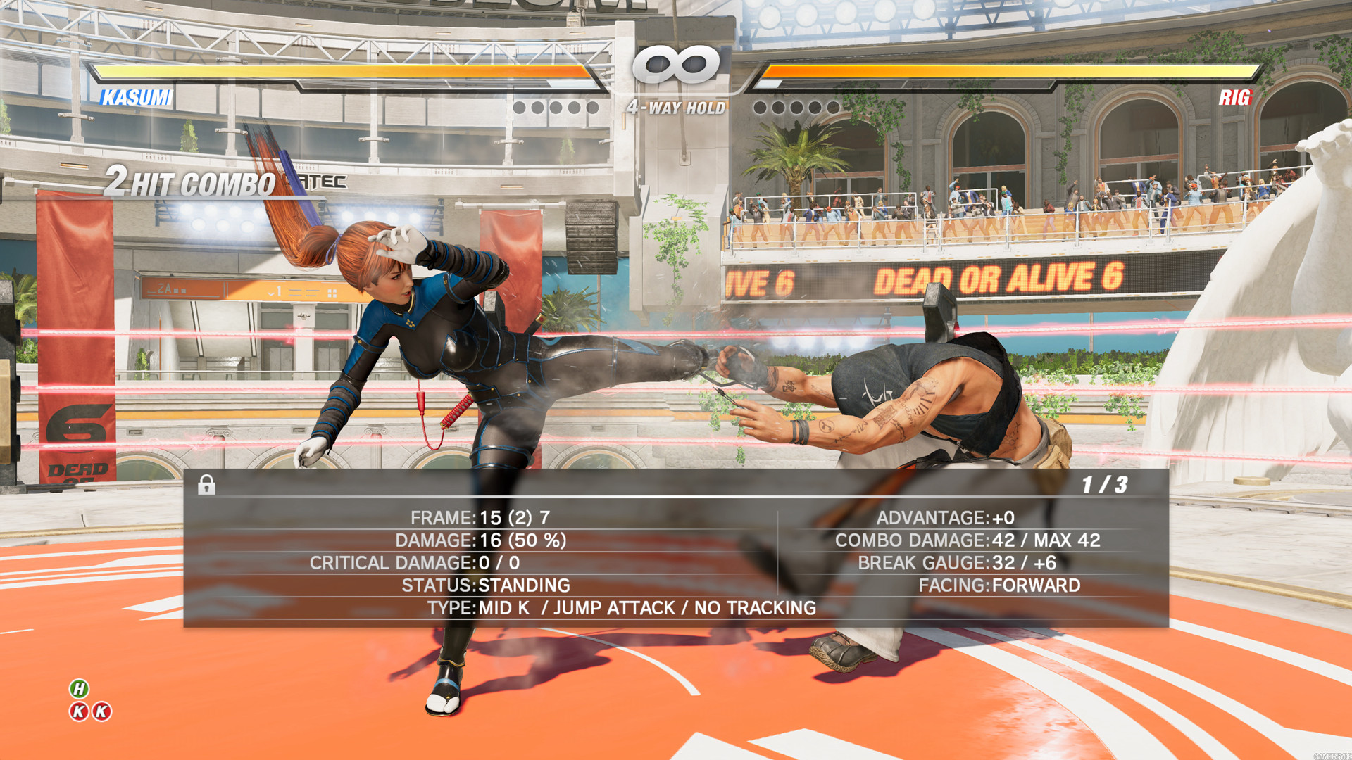 改走陽剛風格 《生死格鬥6》裡格&迭高登場截圖