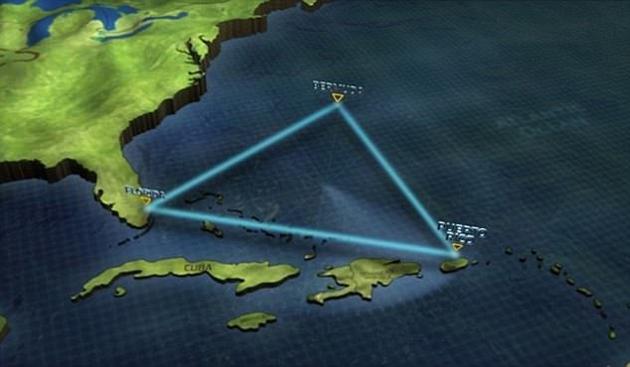 """百慕大三角神秘失踪事件破解:或因为30米高的""""疯狗浪""""导致"""