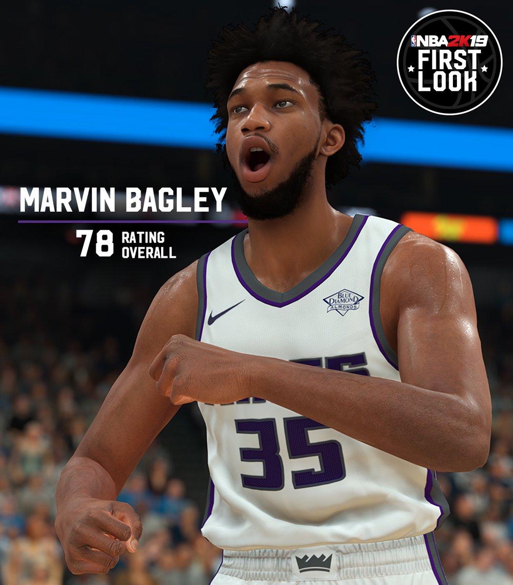 《NBA 2K19》2018屆新秀狀元榜眼探花能力值公佈