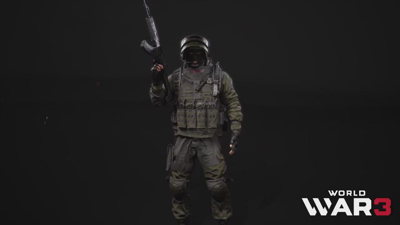 《第三次世界大戰》官方發佈新演示 展示特種兵全貌
