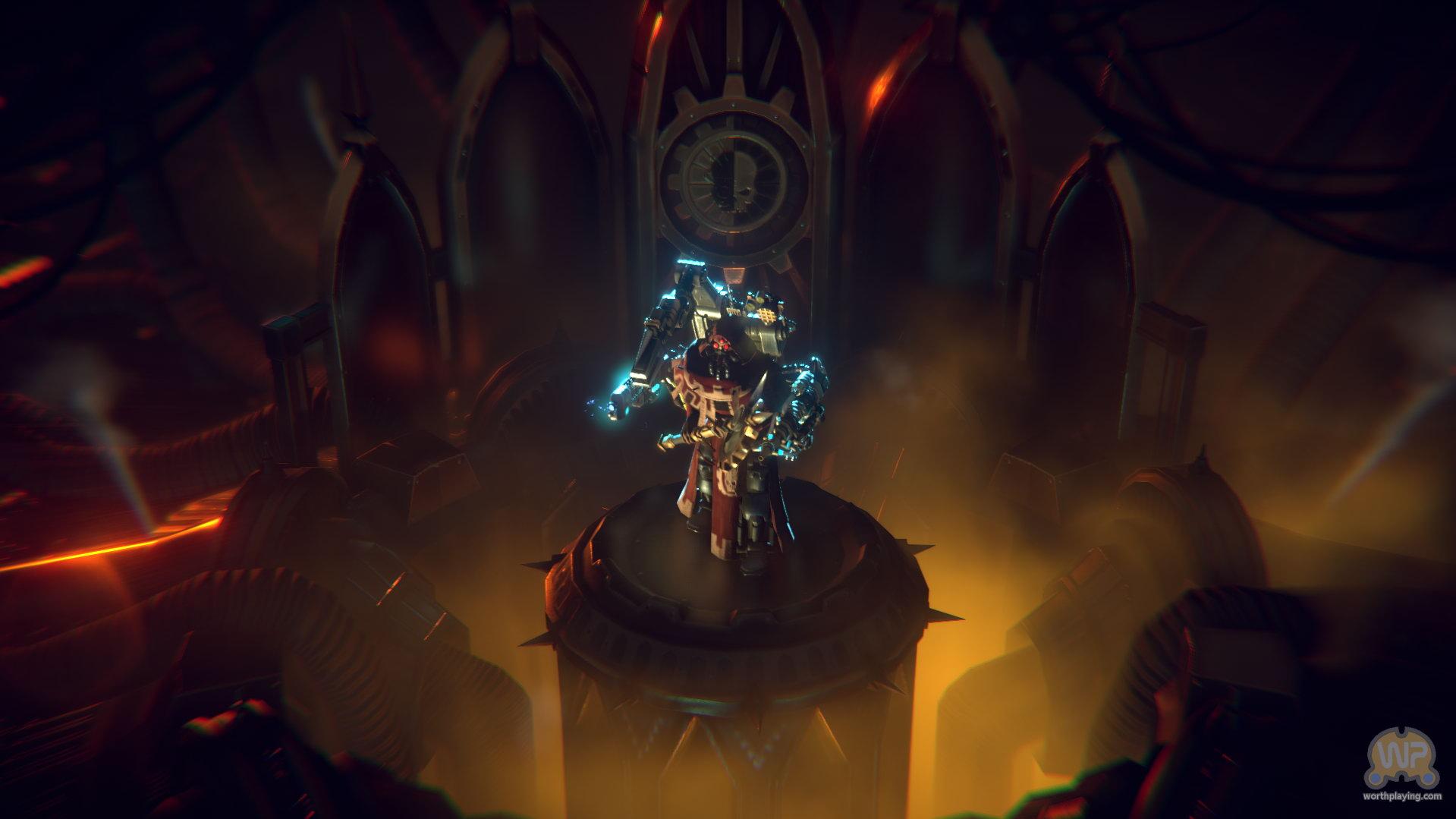 战锤迷不可错过 《战锤40K:机械神教》发售日及新截图公布