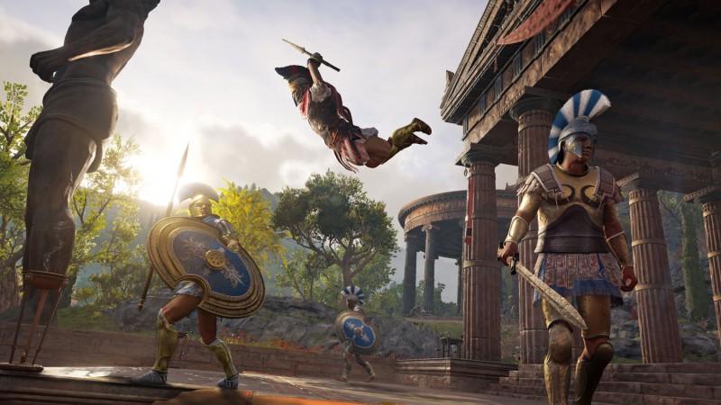 《刺客信条:奥德赛》中玩家全程被高手追杀 可买通雇佣兵