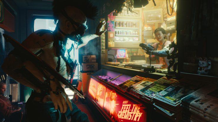"""《赛博朋克2077》新情报公布 主角""""V""""比杰洛特更有深度"""