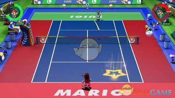 马里奥网球Aces本地双人体感模式怎么设置
