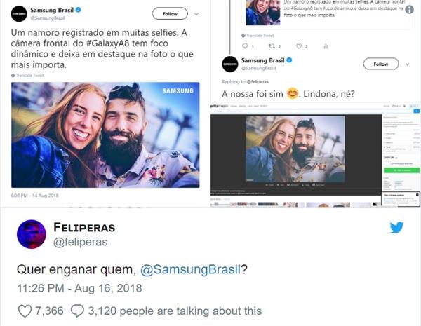 三星巴西误用相机样张宣传被识破 向用户致歉