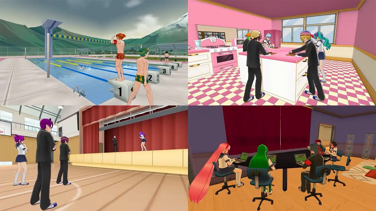 《病娇模拟器》8月开发进度视频:新增社团系统