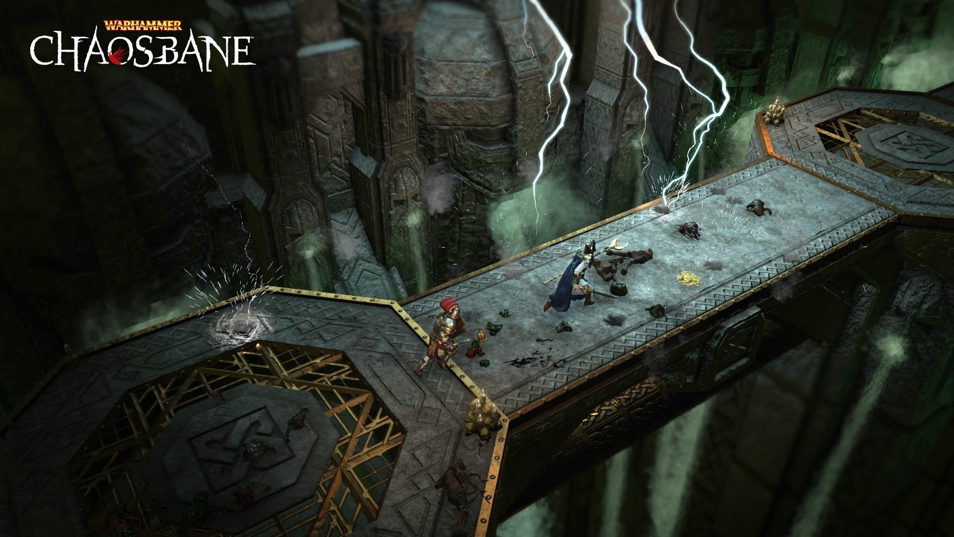 暗黑风格ARPG《战锤:混沌祸根》新截图 黑暗血腥之战