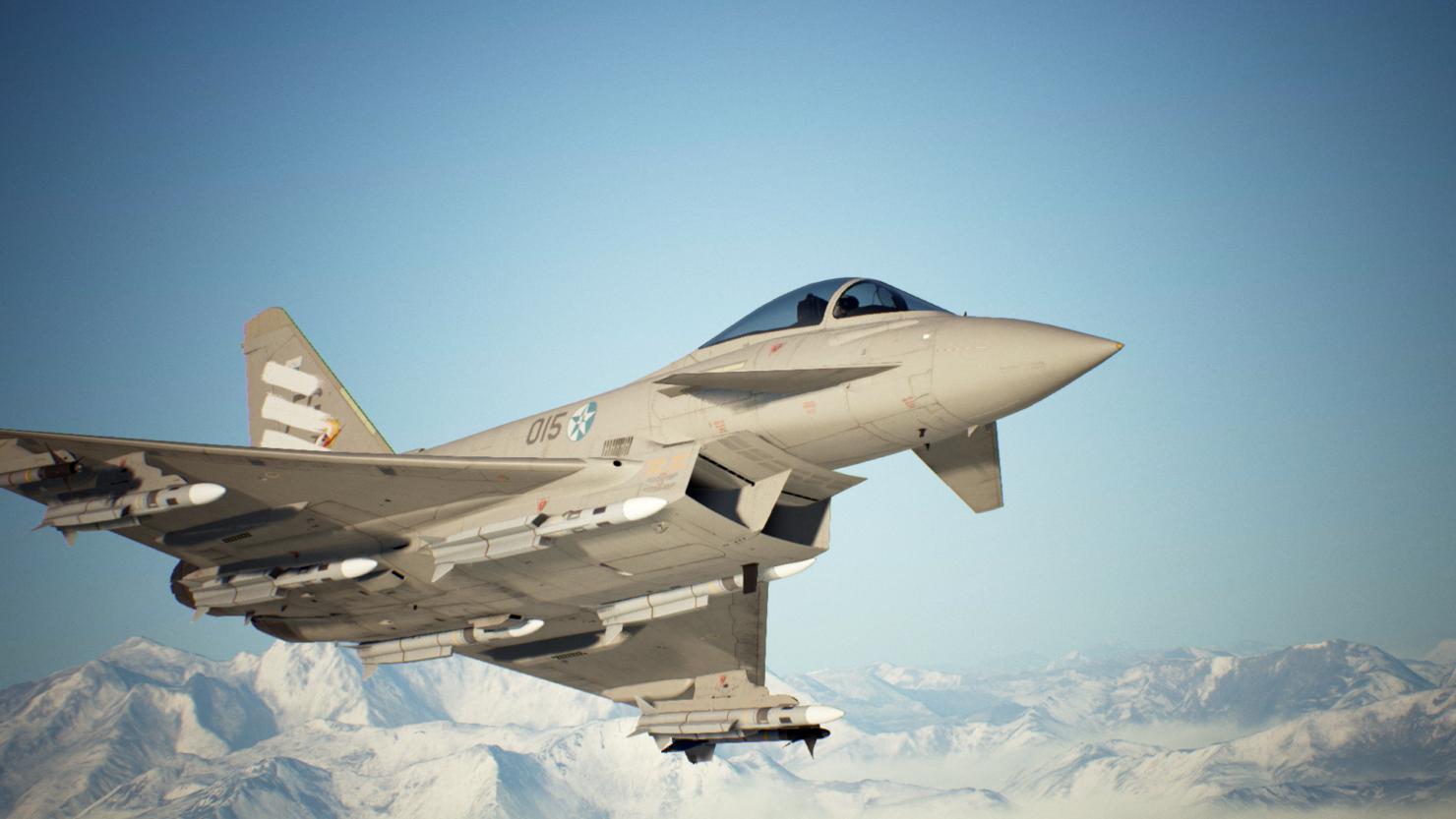 《皇牌空战7:未知空域》 所有战机全面重制 仍有尚未发布的战斗机