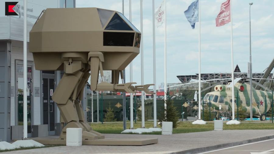 《合金装备》REX成真!俄罗斯武器制造商打造巨型步行者