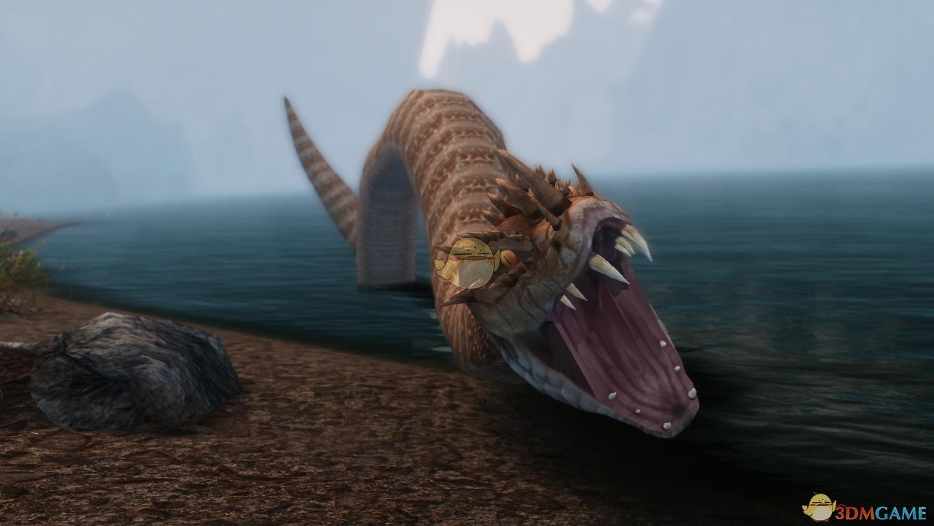 上古卷轴5:天际 水下巨蛇mod