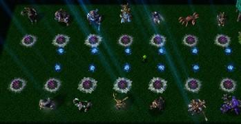 《火线对垒5:亡灵漩涡》v1.2[war3地图]