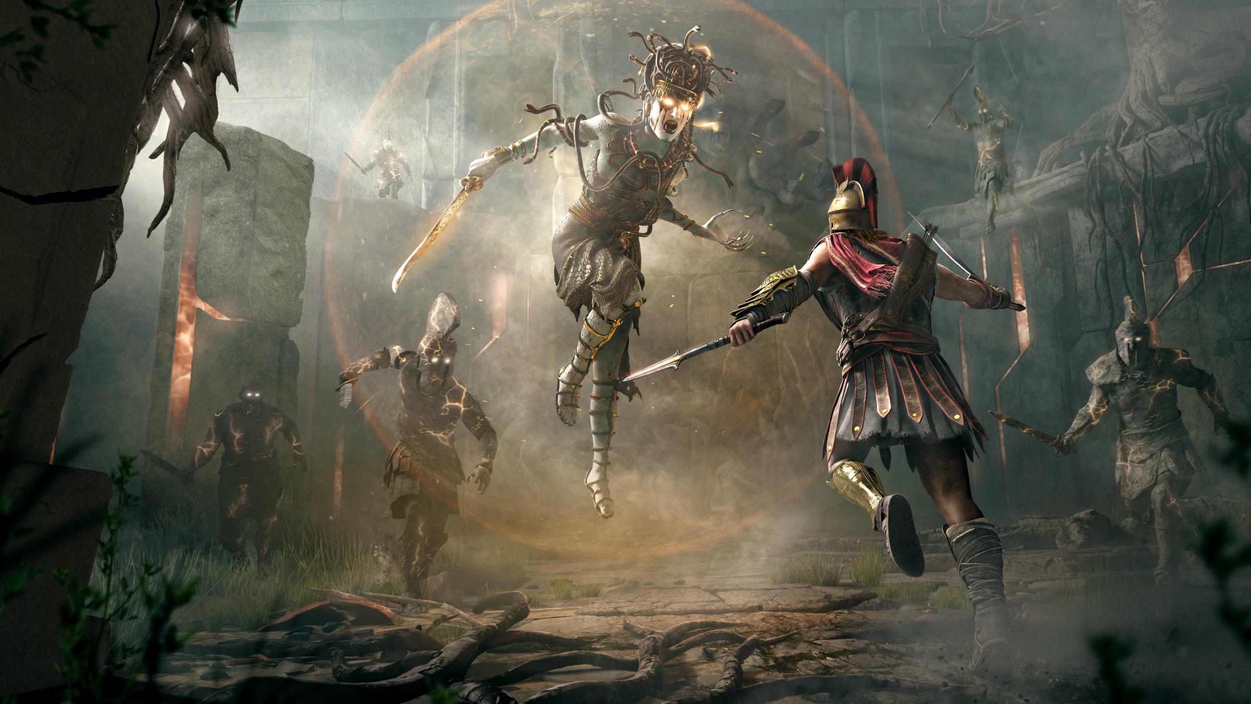 《刺客信条:奥德赛》试玩前瞻 美杜莎之战惊心动魄