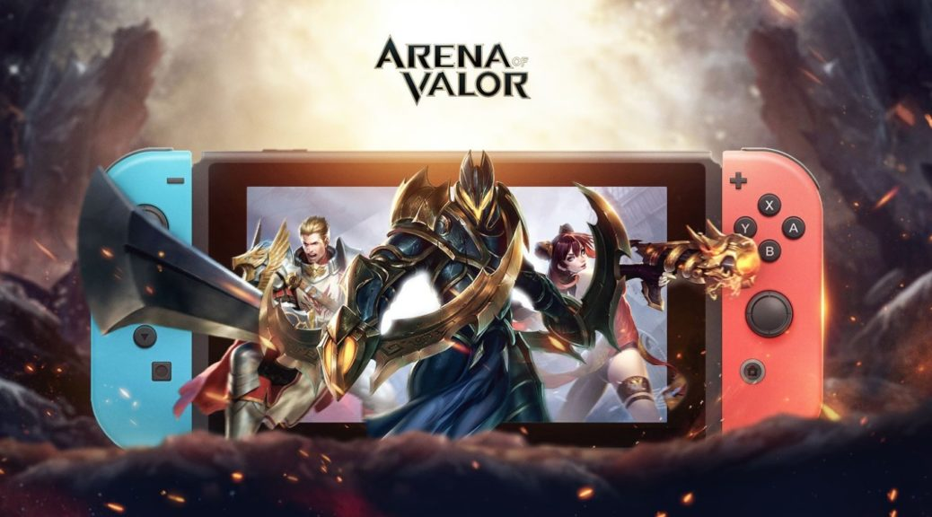 游戏新消息:Switch王者荣耀9月25日上线免费提供39个英雄使用权