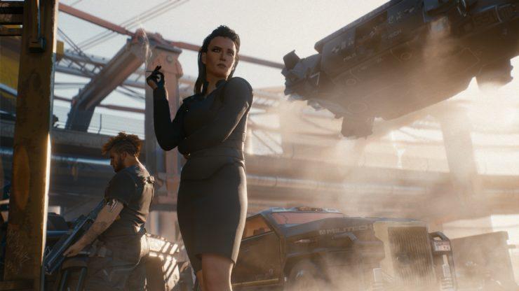 《赛博朋克2077》 夜之城面积够大绝非微缩版